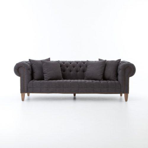 Outdoor Sofa, White Molded Plastic - BeThings