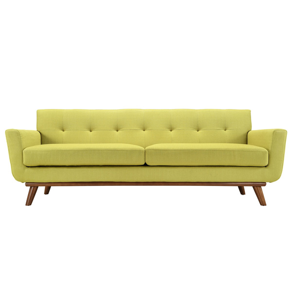 Lime Green Sofa