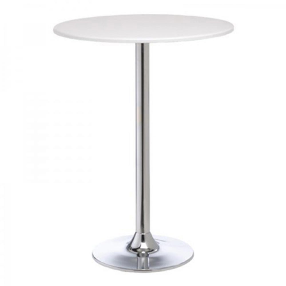 Monaco High Top Table White BeThings - High top pedestal table